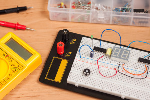 Basic electronics training course